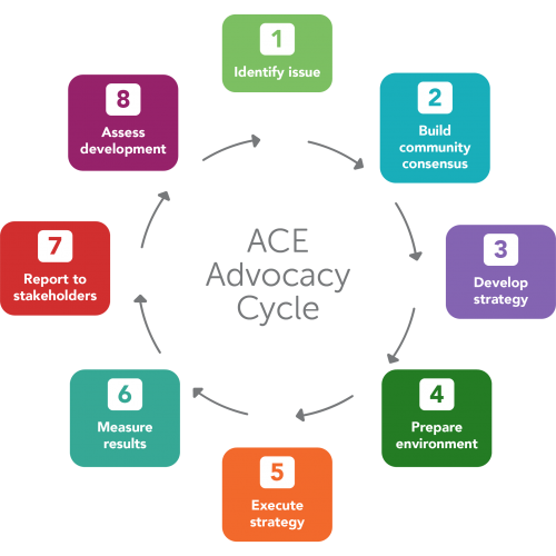 Advocacy Cycle Infographic