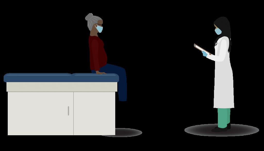 Illustration d'essai médical