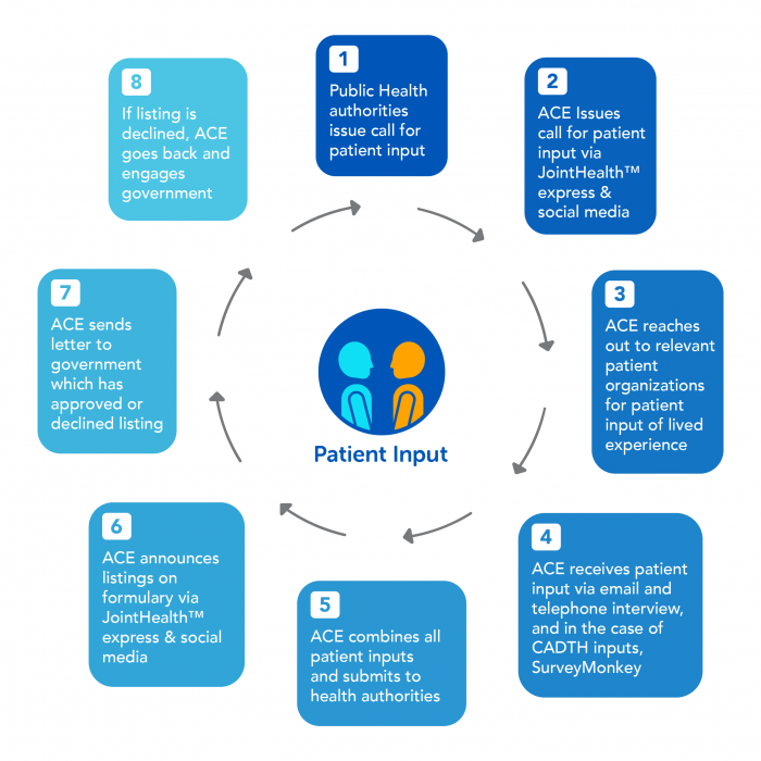 Patient Input Cycle Infographic