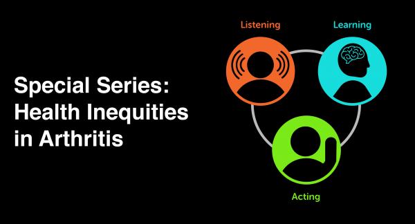 Special Series - Health Inequities in Arthritis Banner